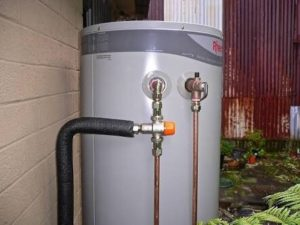 Fixing a faulty hot water service